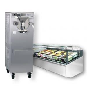 Italiensk Gelato og Gourmet ismaskine